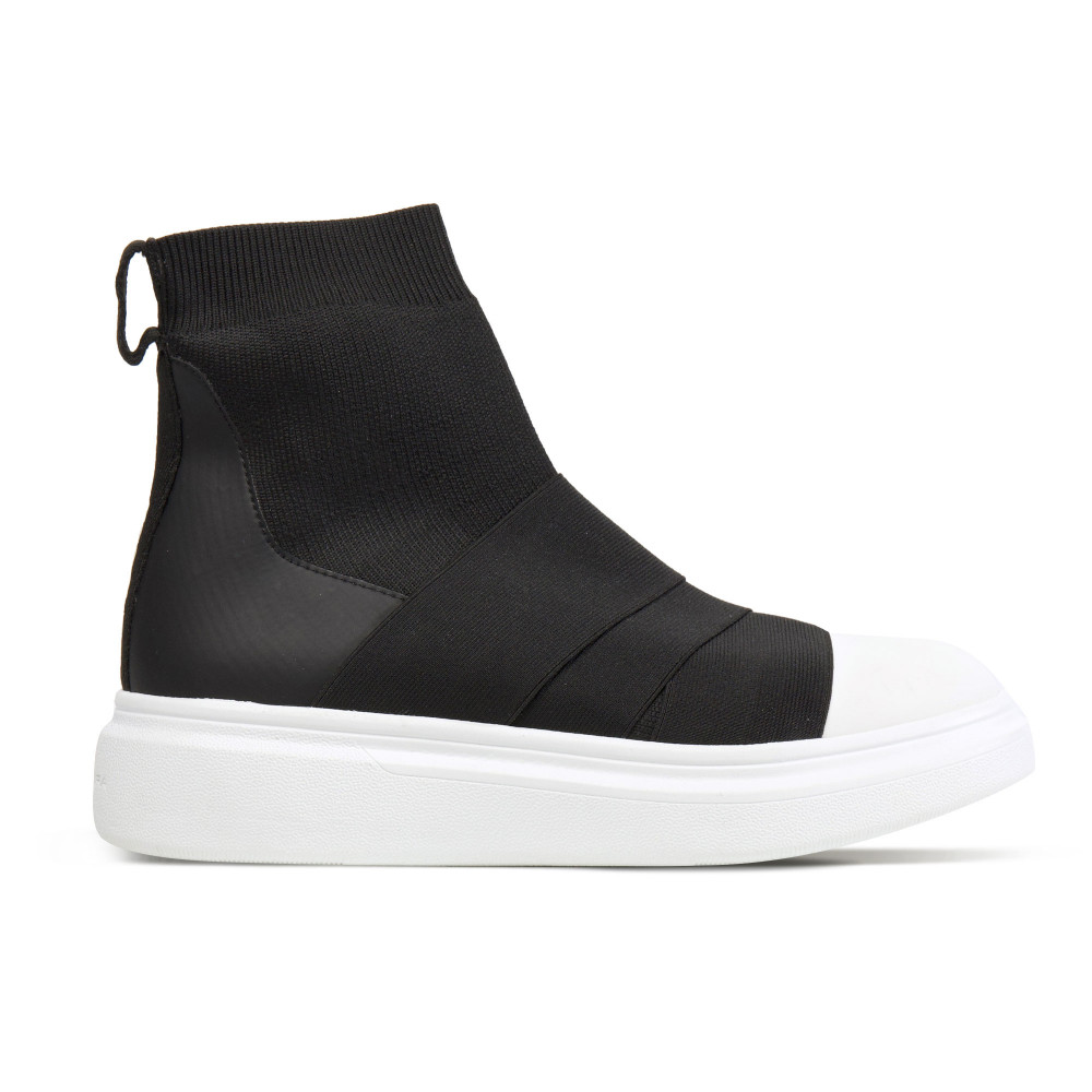 Edge Ankle Black/White