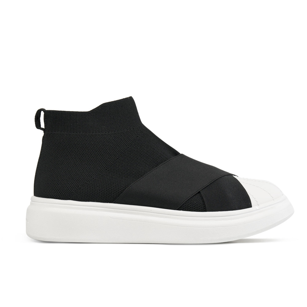 Edge Knit Black/White