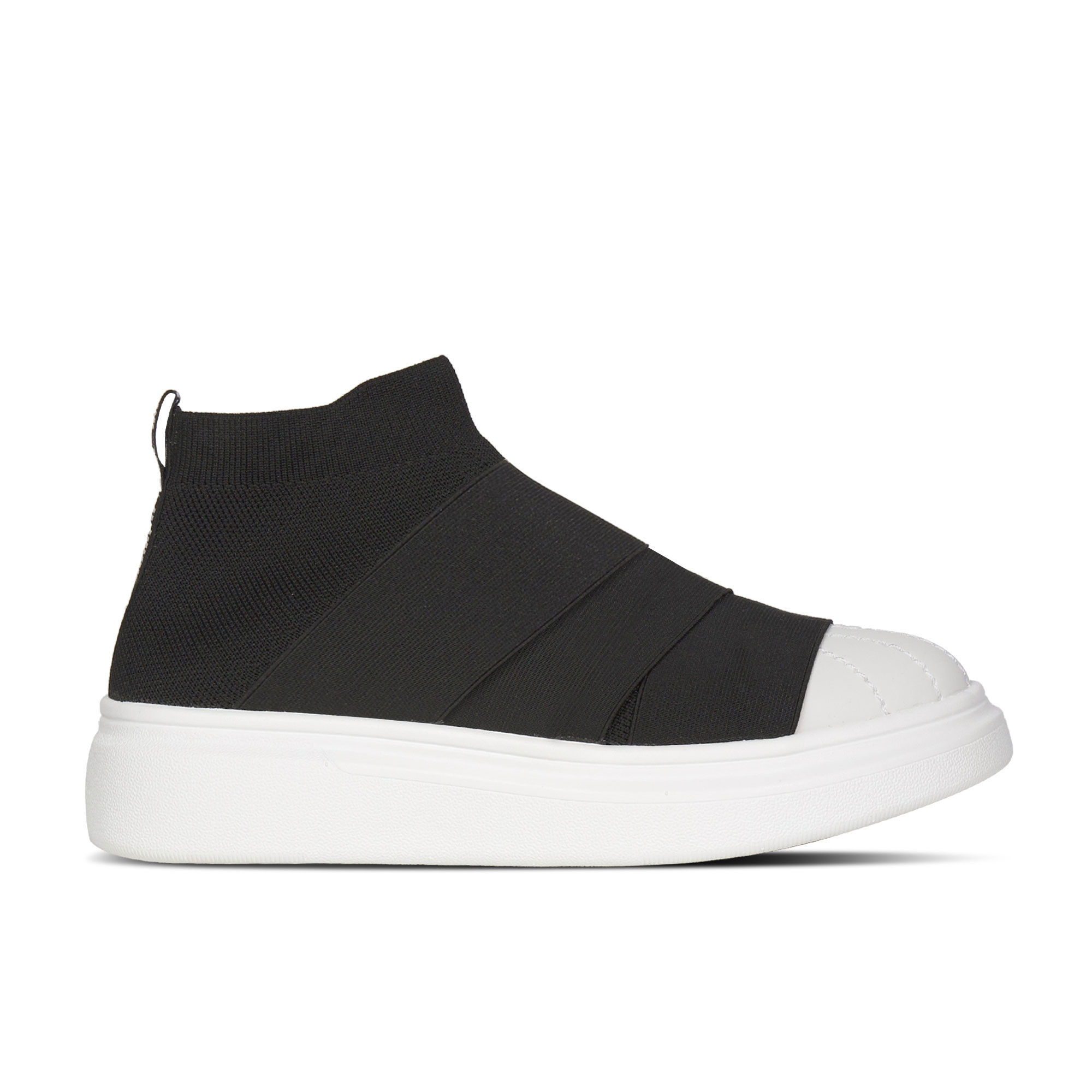 Edge Toe Black/White